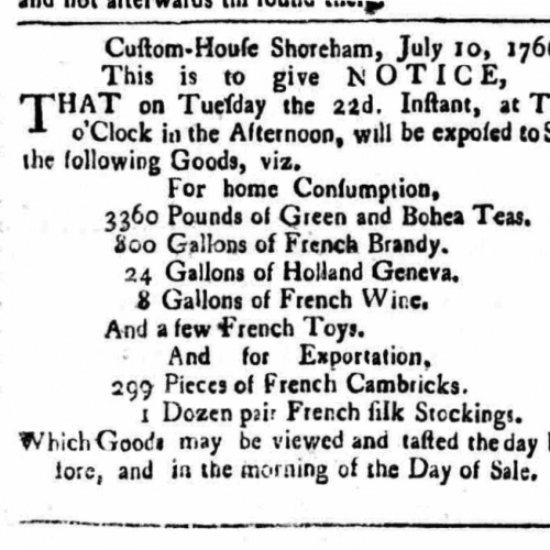 1766c 14th July Sussex Advertiser