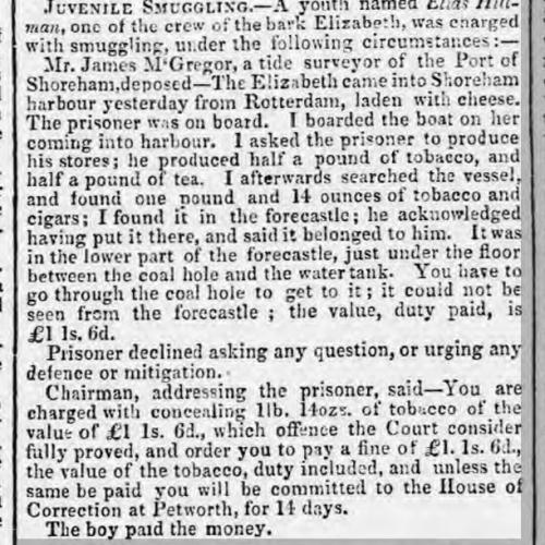 1855ha 7th August SA