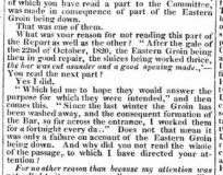 1827e 14th April Norfolk Chronicle Part of a report on possible sluice gates at Norwich