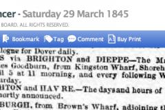 1845ca 29th March