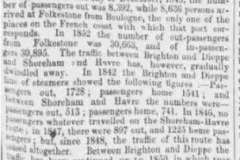 1853ei 27th May Newcastle Courant Newhaven takes over