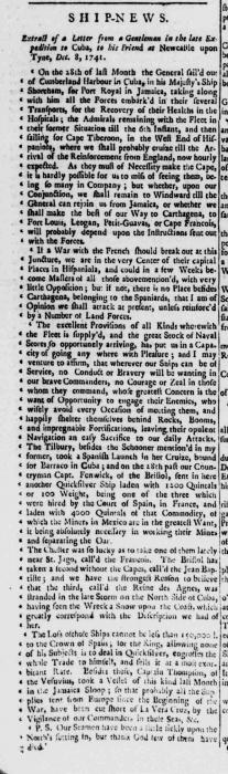 1742b 4th March Stamford Mercury