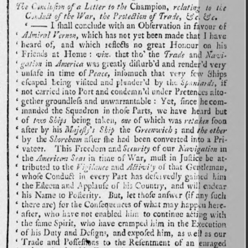 1740o 22nd Nov Ipswich Journal