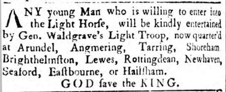 1759 3rd December Sussex Advertiser