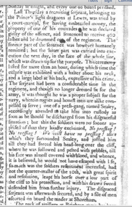 1794a 25th October Ipswich Journal