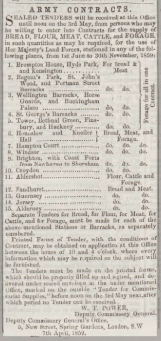 1859dc 9th April Herts Guardian