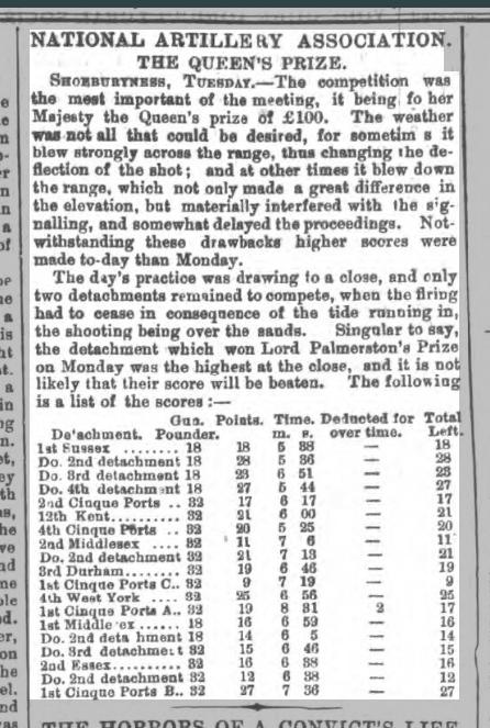 1865 Sheffield Daily Telegraph