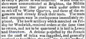 1793 19th October Norfolk Chronicle