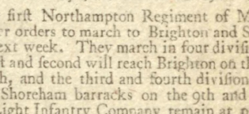1798 6th October 1798