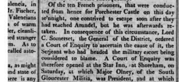 1808c 28th November Hampshire Chronicle