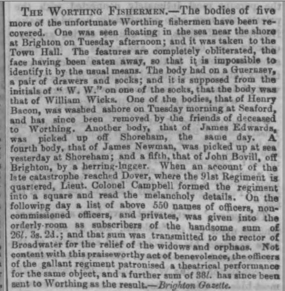 1850lb 20th December 1850 London Standard copy
