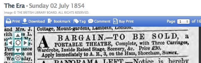1854ga 2nd July The Era