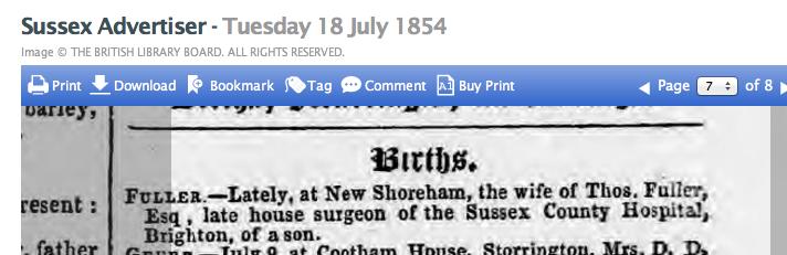 1854gb 18th July SA