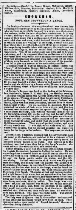 1857ch 17th March SA