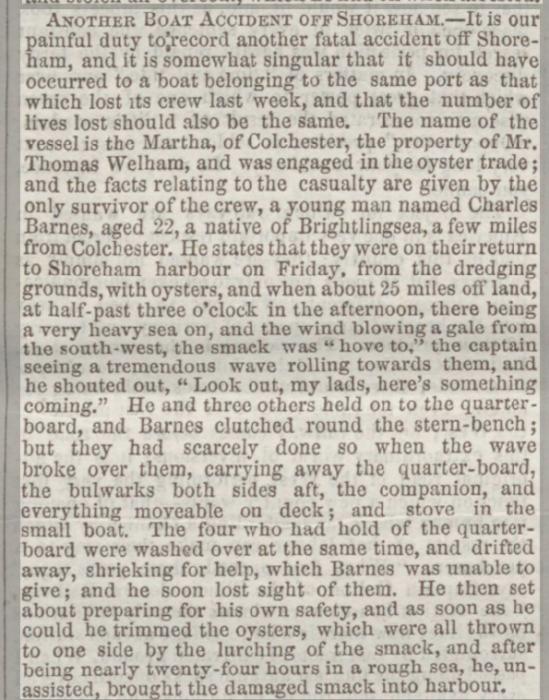1857ck 21st March Wells Journal