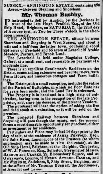 1857h 11th August Annington