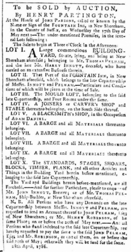 1786e Fountain Inn Sussex Advertiserjpg