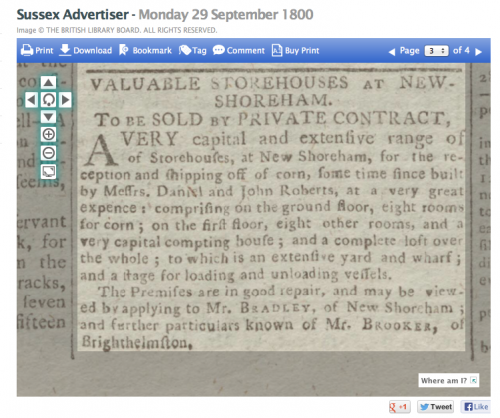 1800i 29th September GRANARY IN BUTLERS SKETCH