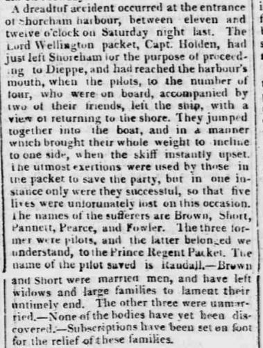 1815c 4th May Cheltenham Chronicle