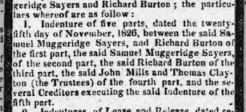 1827a 22nd January Sussex Advertiser