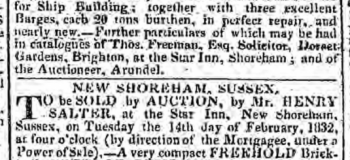 1832b 6th February Hampshire