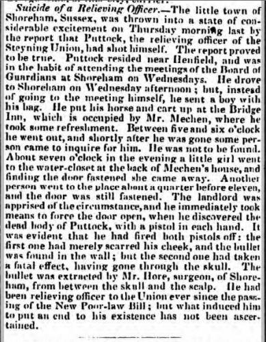 1842db 18th April Salisbury Journal