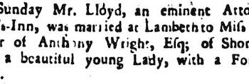 1743 22nd December Stamford Mercury