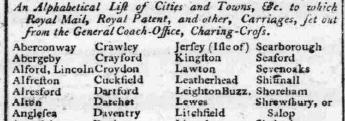 1791 7th November Hampshire Chronicle