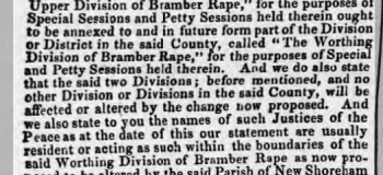 1854de 25th April Sussex Advertiser