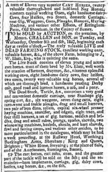 1847ja 2nd October Hampshire Telegraph