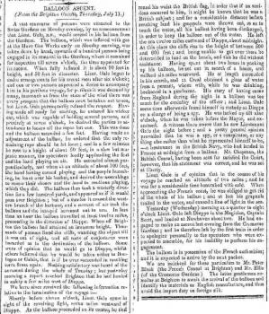 1850g 13th July Hampshire Telegraph