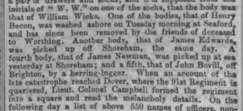 1850lb 20th December 1850 London Standard copy