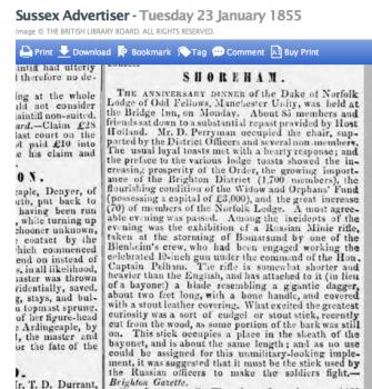 1855af 23rd January SA