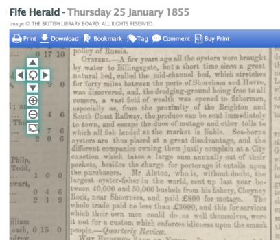 1855ag 25th January Fife Herald
