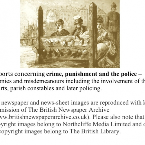 1 Crime Misdemeanours & Punishment