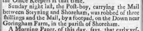 1775 12th December 1775 Leeds Intelligencer probably Erringham farm