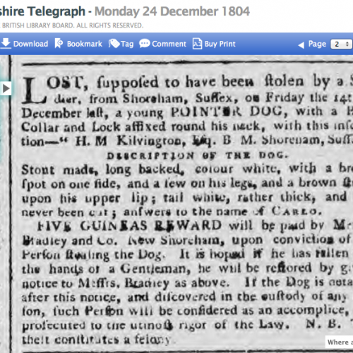 1804 24th December Hampshire Telegraph