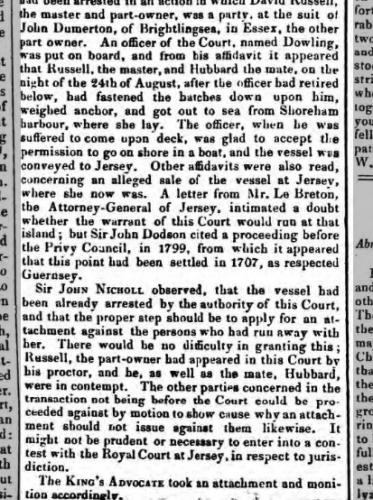 1836a 23rd January Essex Standard
