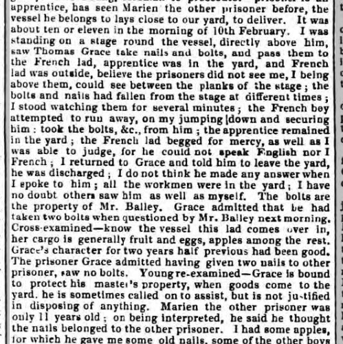 1836b 9th April Hampshire Advertiser
