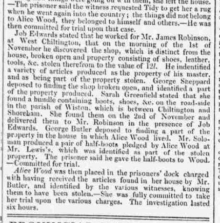 1837ge 28th November Brighton Patriot Part Five