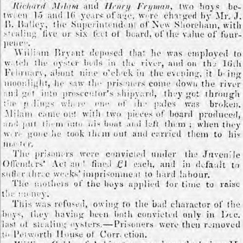 1853ca 15th March SA