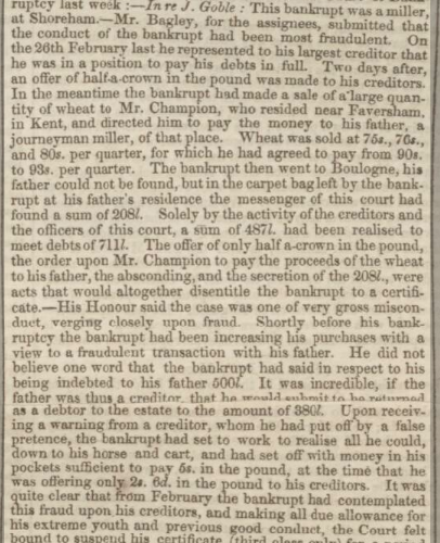1854fc 30th June Lincolnshire Chronicle