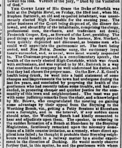 1857 3rd November SA z