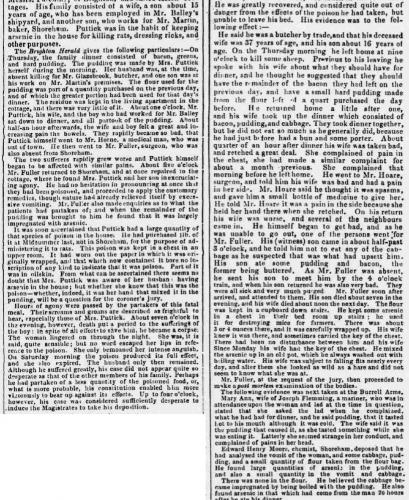 1858a 5th January SA Puttick