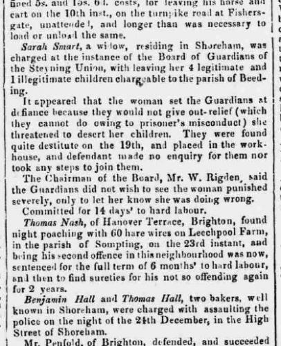 1858ac 5th January SA