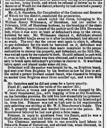 1858be 16th February SA