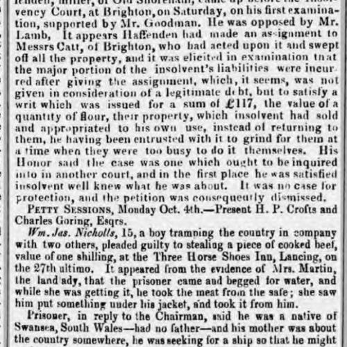 1858jb 12th October SA