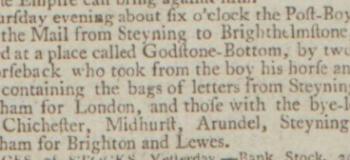 1792a 3rd November 1792 Northampton Mercury