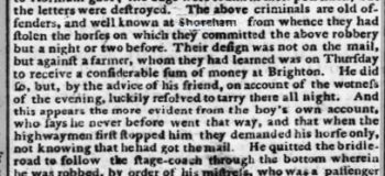1792b 12th November 1792 Hampshire Chronicle