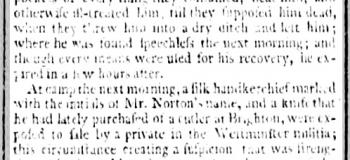 1795 22nd October 1795 Bath Chronicle